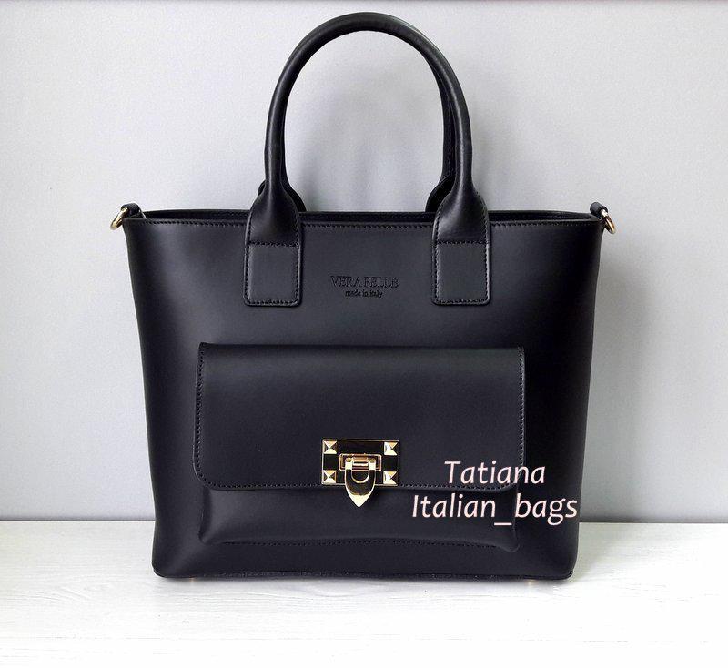 8fa9095f2a25 Новинка. стильная кожаная сумка. vera pelle италия Vera Pelle, цена ...