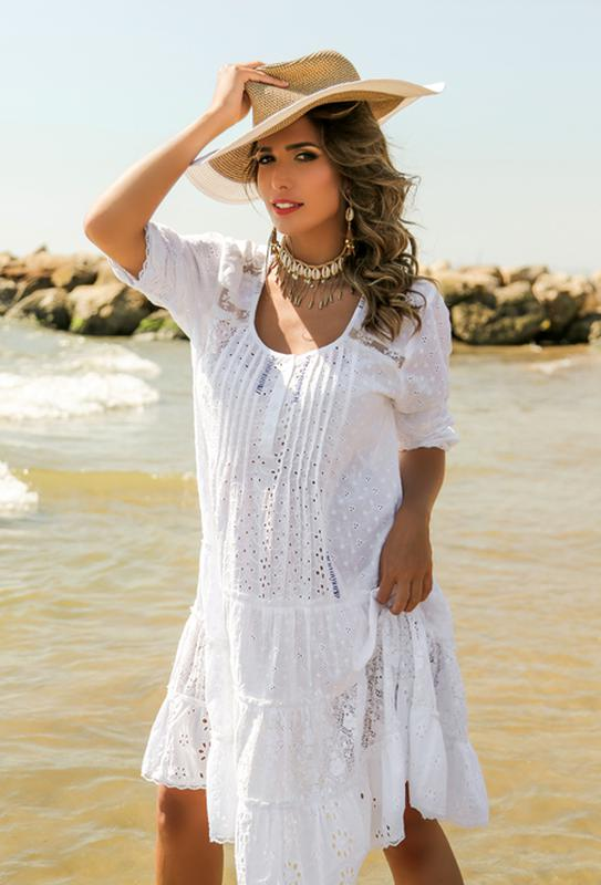 c7ff669af2ed5d6 Пляжное платье летнее, туника в стиле бохо-шик от anastasea 20191 фото ...