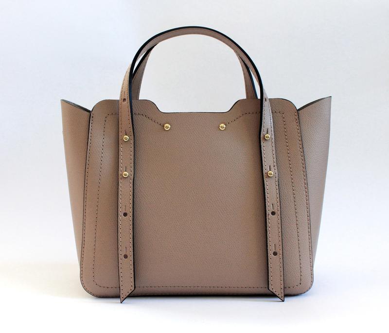 Итальянская кожаная сумка (натуральная кожа) цвет пудра, италия1 ... 1935187dfdc