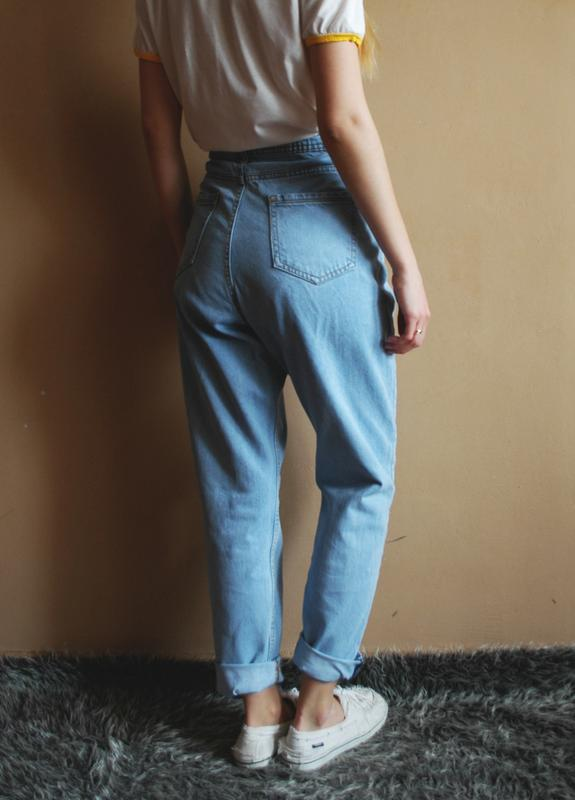 085196532e3 Идеальные мом – джинсы с высокой посадкой mom jesns джинсы бананы1 фото ...