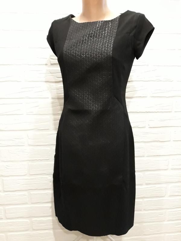 78c18357185 Идеальное маленькое чёрное платье платье-футляр офисное платье р.361 фото  ...