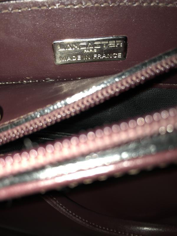 5d82a57c9723 ... Стильная сумка рюкзак натуральная кожа оригинал lancaster3 фото ...