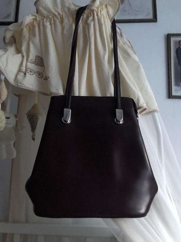 84df52b51bf4 Стильная сумка рюкзак натуральная кожа оригинал lancaster1 фото ...