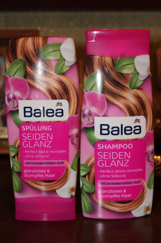 набор Balea орхидея шампунь 300 мл бальзам для волос 300 мл за 70 грн