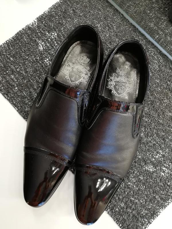 53d1e09a7 Кожаные классические мужские туфли tezoro man, цена - 599 грн ...