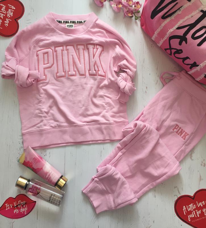 c655c5fd Спортивный костюм pink victoria's secret пинк виктория сикрет1 фото ...