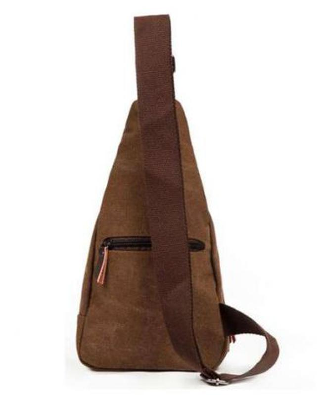 a000f17418e6 Компактный мужской рюкзак - сумочка через плечо тканевый.1 фото ...