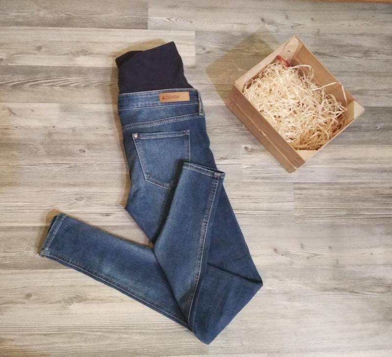 e169a09861c0 Стильные джинсы скинни для беременных H M, цена - 269 грн,  10892026 ...