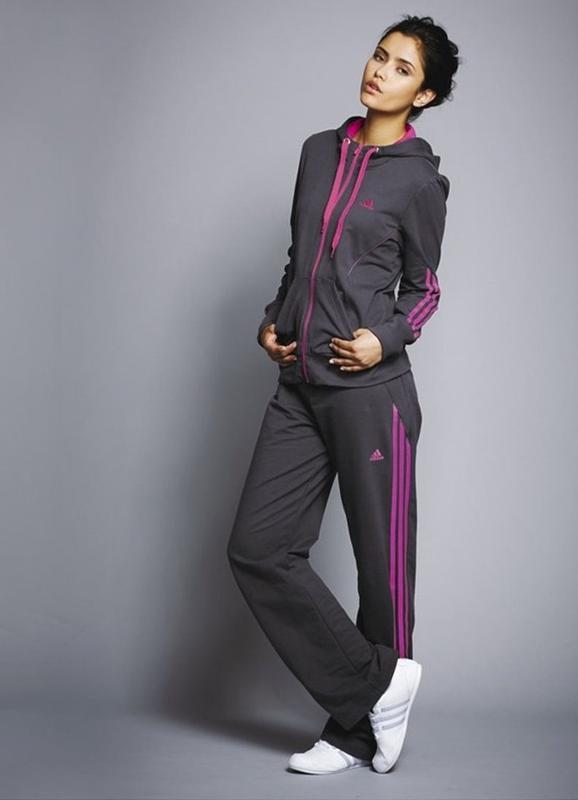 Спортивный костюм adidas светло серый с розовым Adidas, цена - 130 ... 966ec82efa4