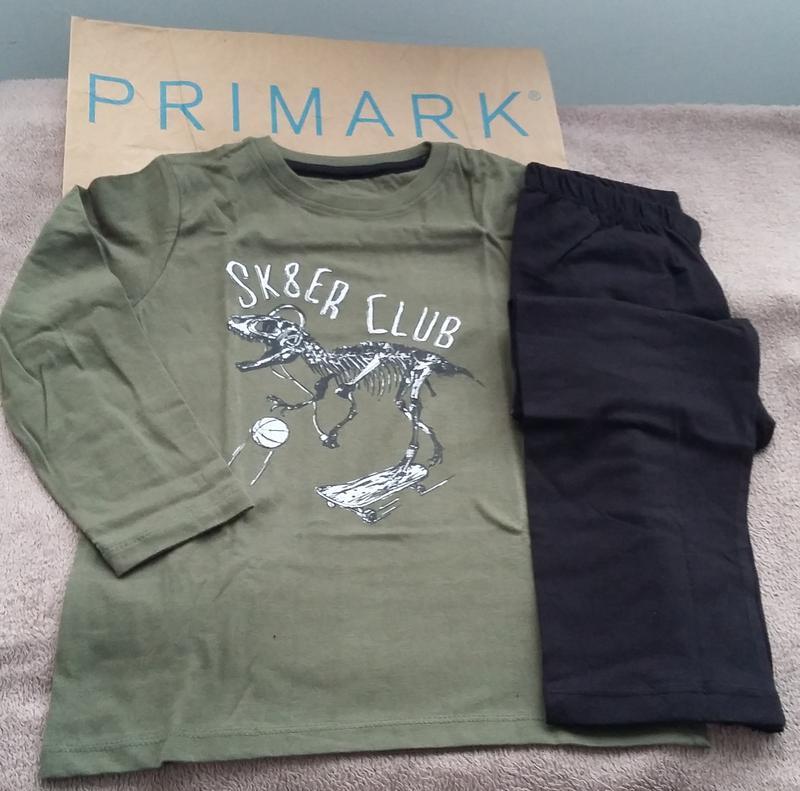 Котонові піжами для хлопчиків rebel 110 128 Primark 1ee28de973ecb