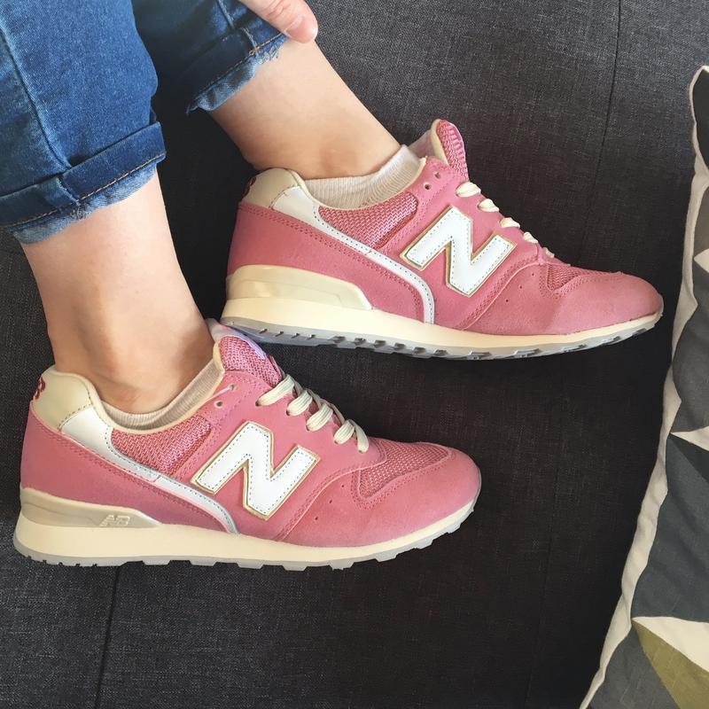 Кроссовки замшевые розовые с бежевым в стиле new balance (36. 36,5 ... 18373a6c369