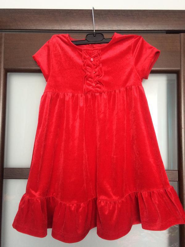 Красное платье червоне бархатное 3-5 лет1 ... 71ddda7e679f2