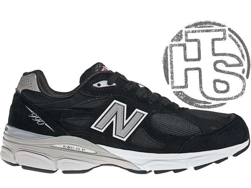 9aa616976 Мужские кроссовки new balance 990 usa black m990bk3. любимые кроссовки  джобса1 фото ...