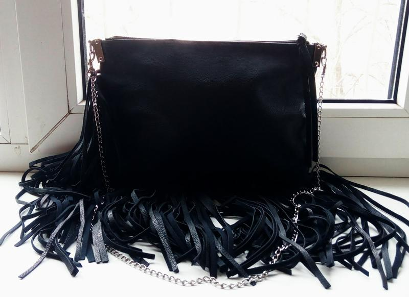 fe1f208e5 Стильная новая сумка-клатч с бахромой h&m. H&M, цена - 399 грн ...