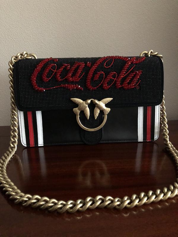 82224859088b Сумка pinko coca - cola Pinko, цена - 7600 грн, #11052949, купить по ...
