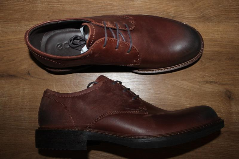 e01fe8347 Мужские кожаные дерби туфли ecco (27 см: 40 размер) Ecco, цена ...