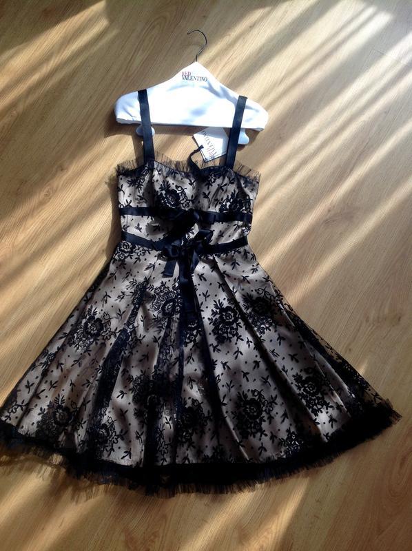 платье ред валентино 5