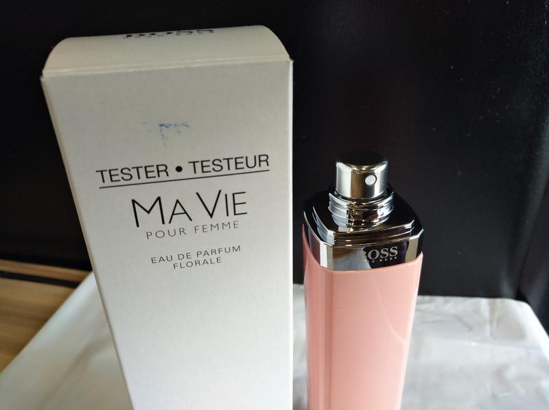 Hugo Boss Boss Ma Vie Pour Femme Florale 75 Ml Edp оригинал Tester
