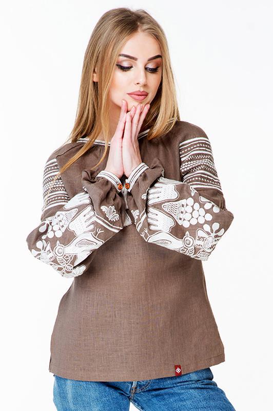 Вишиванка жіноча вишита сорочка1 ... aca214403905f