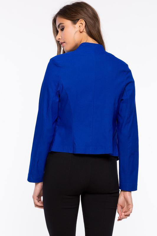 59ad92888f09 💐💐💐💐базовый пиджак цвета электрик, индиго💐💐💐💐 за 85 грн.