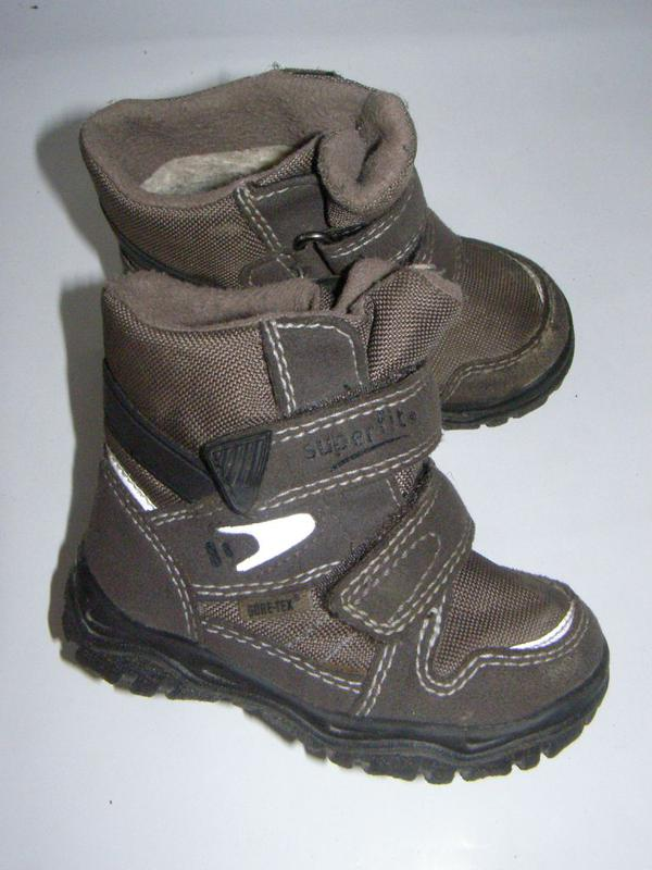 db9e008f1 Рр 21 - 13,4 см зимние детские сапоги ботинки superfit gore-tex1 фото ...