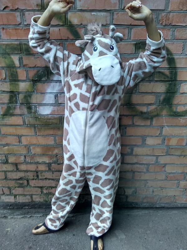 Пижама кигуруми жирафа 7b9eb79b4d272
