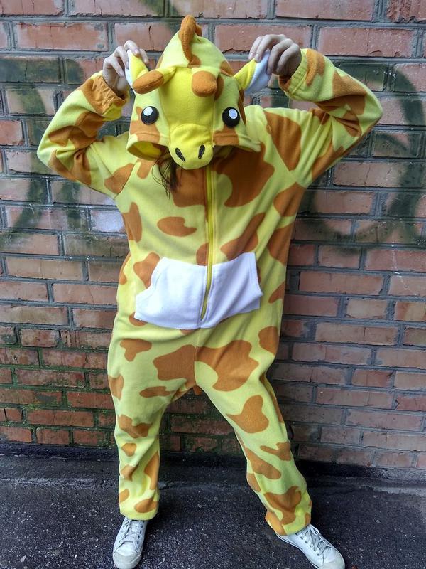 Пижама кигуруми жирафа   bluenotes   размер l1 ... 63a6a9bcc91cf