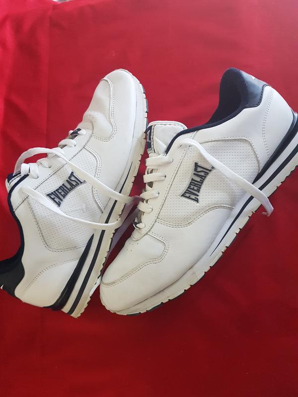 b6e1f7ab80b2 Кожаные белые кроссовки everlast Everlast, цена - 1006 грн ...