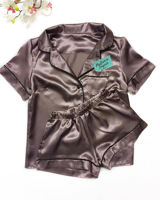 Шелковая пижама 4321d84691a4e