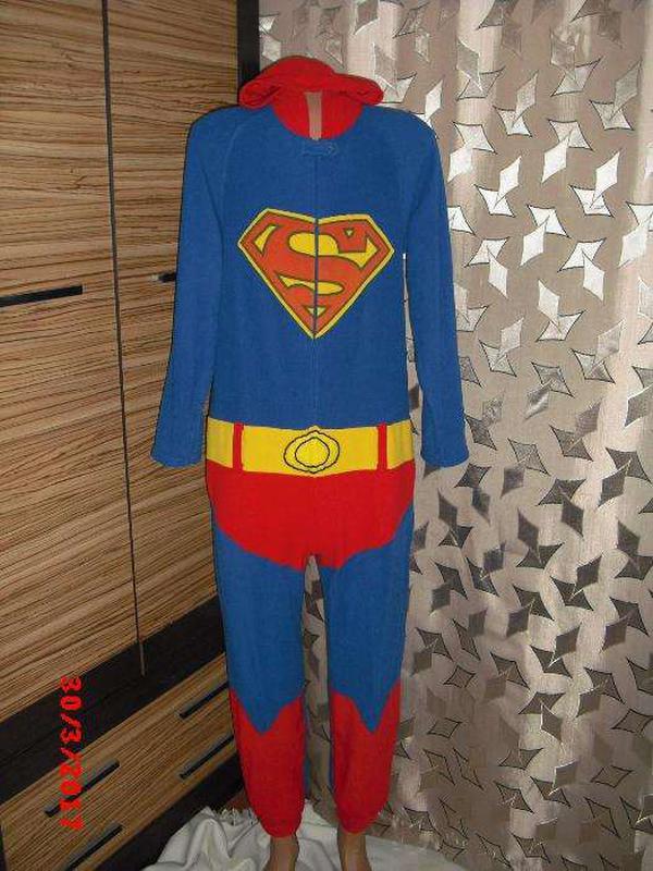 Пижама кигуруми слип человечек ♥superman♥ Primark 3aaa4f3bef8a6