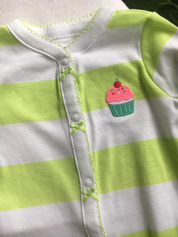 Человечек пижама комбинезон carters на 6-9месяцев 1cfce2688516d