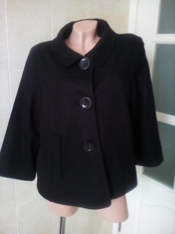 Тонкое стильное пальто-пиджак на весну.1 ... d388101e1dfa2