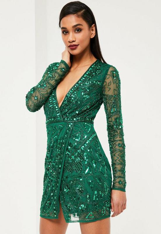 Смарагдове плаття з бісером та паєтками  зелене плаття1 ... 28e4bfcb8d072