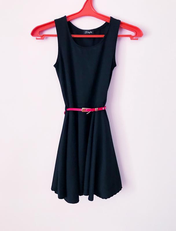 Чорне коротке плаття1 ... 4ddd6f91f48ea