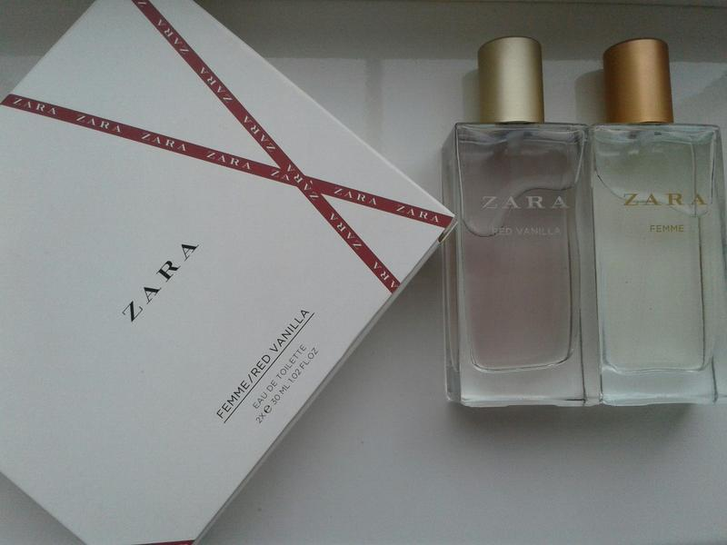 Zara Red Vanilla Femme 2x30 Ml Zara цена 330 грн 1347811