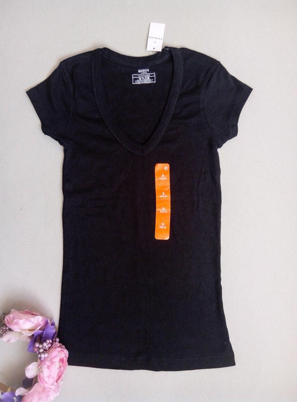Черная базовая футболка Atmosphere 40b849dabf867