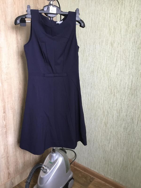 ba988d9a449 Красивое синее платье