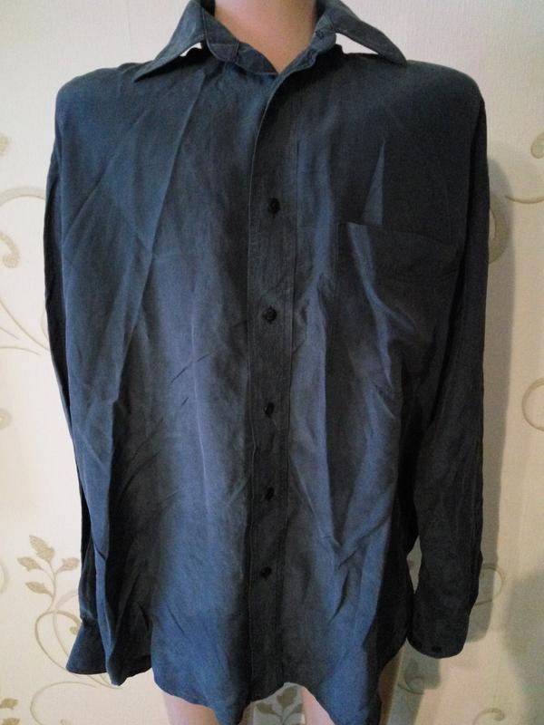 b683d17c0e3 100% натуральный шелк . шелковая рубашка сорочка мужская . Италия ...