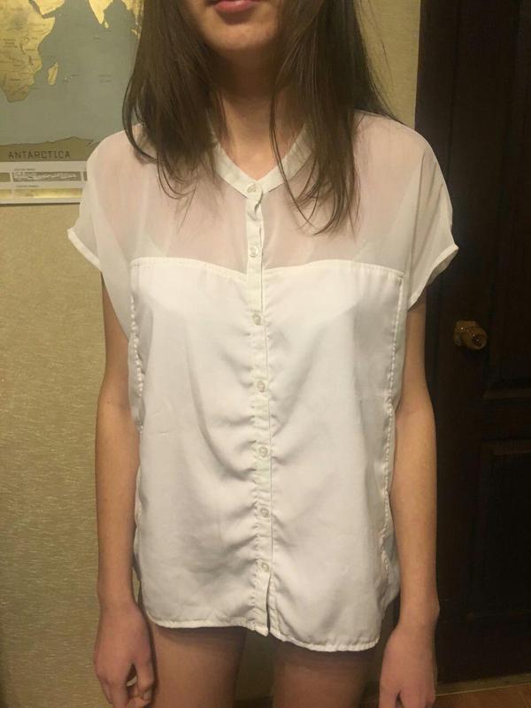 6e5578b650a Белая блузка jennyfer1  Белая блузка jennyfer2. Белая блузка jennyfer