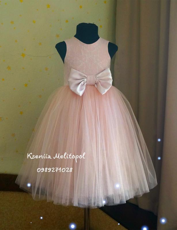 fb82a114dde Нарядное детское выпускное платье пышное платье на выпускной юбка из фатина  famelly look1 фото ...
