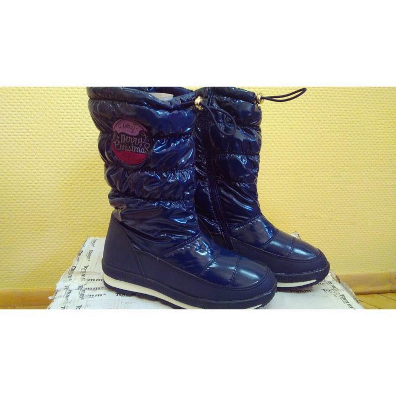 Сноубутсы дутики зимние сапоги для девочек сноубутси зимові чоботи для  дівчаток 22 18277597573c4