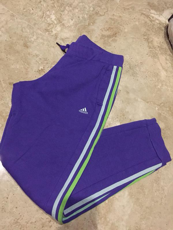b77ac0e7681 Adidas original штаны фиолетовой красоты