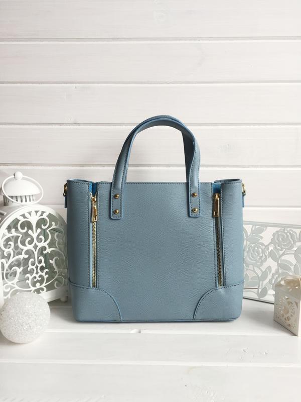 6a1a0238b964 Брендовая голубая женская сумка. натуральная кожа. италия1 фото ...