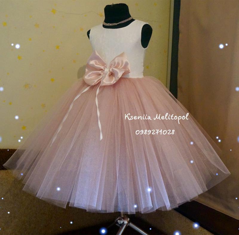 24e94f2f5dd Бальное платье для девочек пышное нарядное детское платье выпускное платье1  фото ...