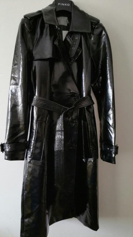 Плащ тренч виниловый (лаковая кожа) asos ASOS, цена - 3990 грн ... 7e6f209fee4
