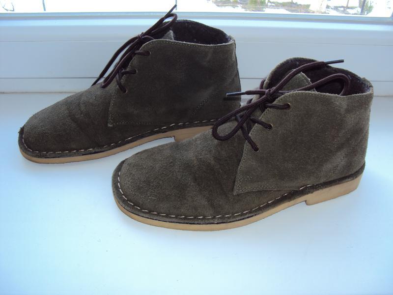 Замшеві демісезонні черевики cotton traders 40 р. ... a6601d0ddea63