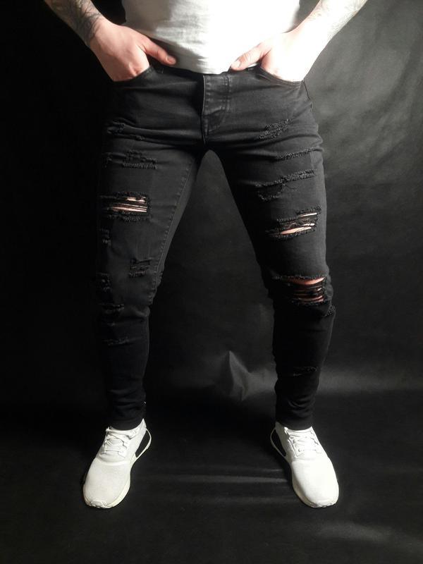 рваные джинсы купить мужские 7