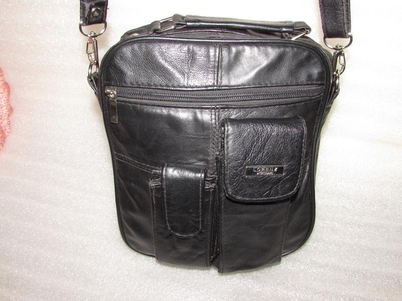 c9a666b87bf2 Мужская сумка натуральная кожа ~lorenz accessories~ англия Pieces ...