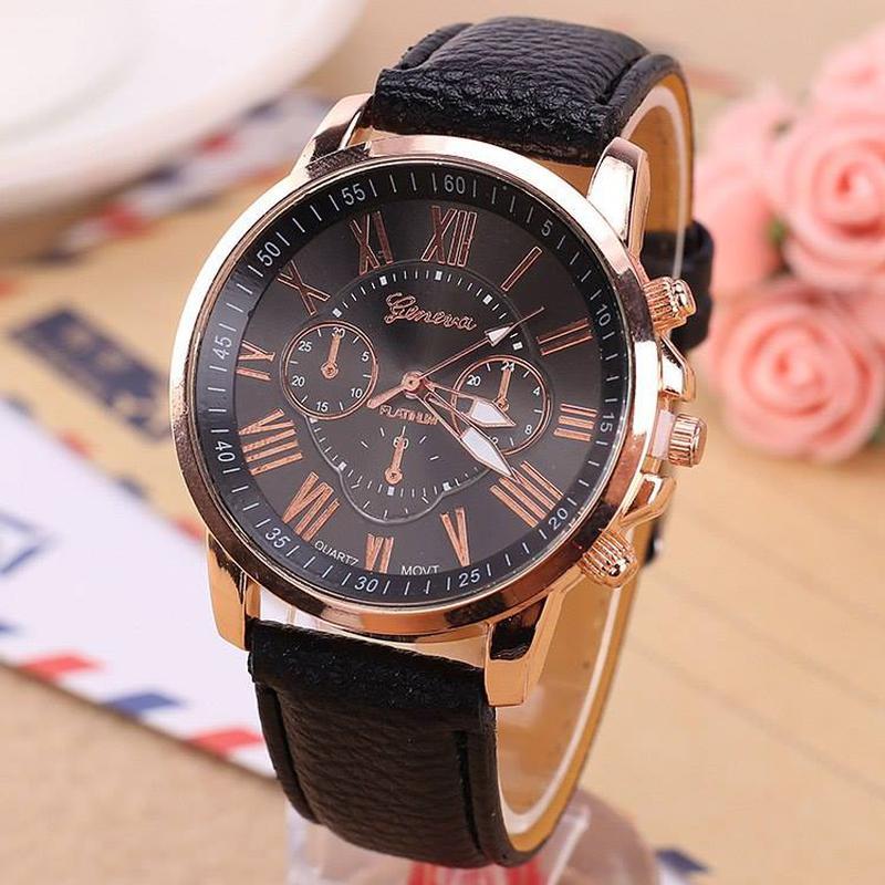 Бесплатная доставка 39 заказы  женские часы модные geneva брендовые римские цифры искусственная кожа аналоговые кварцевые наручные часы женские часы 3 цвета но выбирайте часы по фото в каталоге, для вашего удобства все часы имеют фото, обзор, везде указаны цены.