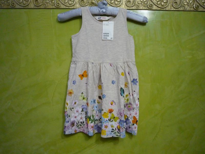 Новое летнее платье сарафан для девочки h m р.98 104 на 2-4 года H M ... 959869548b3ec